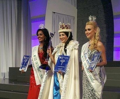 Madusha Mayadunne 2nd runner up at Miss International