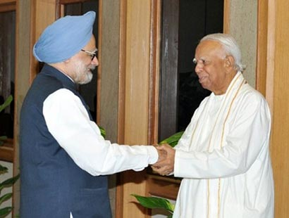 Manmohan Singh with TNA Leaders