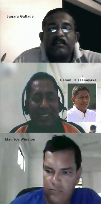 Sagara Gallage, Gamini Dissanayake and Maurice Winston - Cricket Umpires - Match Fixing