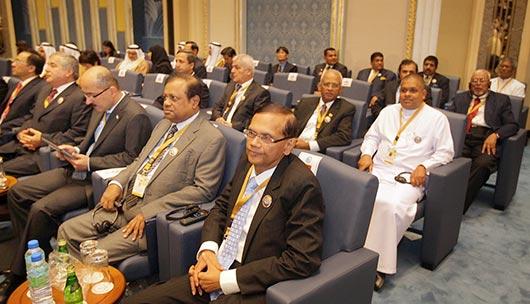 President Rajapaksa at ACD