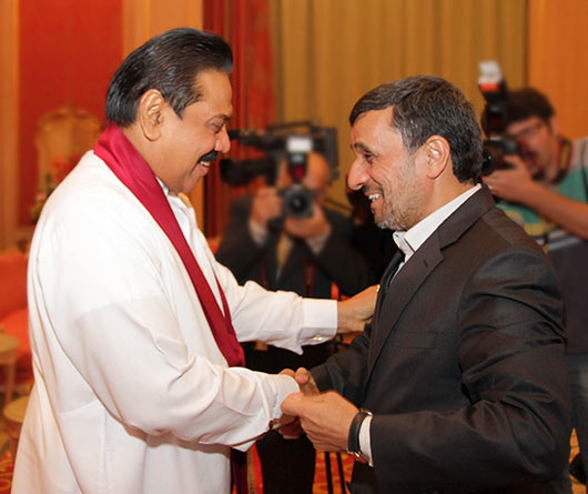 President Mahinda Rajapaksa at Asia Cooperation Dialogue (ACD) Summit in Kuwait