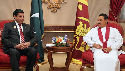 President Mahinda Rajapaksa at Asia Cooperation Dialogue (ACD) Summit in Kuwait