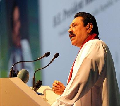 Sri Lanka President at World Energy Forum