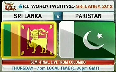 Sri Lanka Vs Pakistan - T20 semi-final