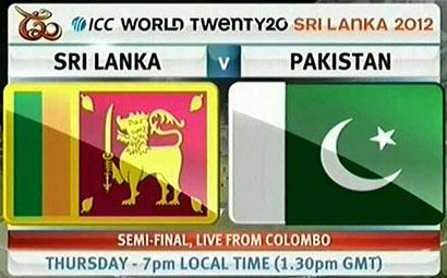 Sri Lanka Vs Pakistan - T20 semi-final