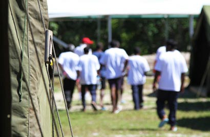 Sri Lankans transferred to detention on Nauru