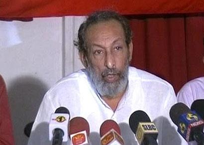 Minister Vasudeva Nanayakkara