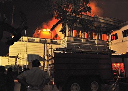 Colombo Kachcheri Fire