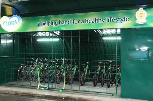 New Cycling Track at Torrington Square