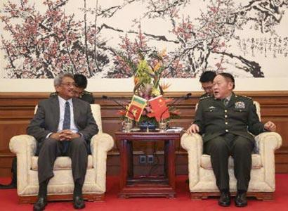 Hon. Gotabhaya Rajapaksa in China