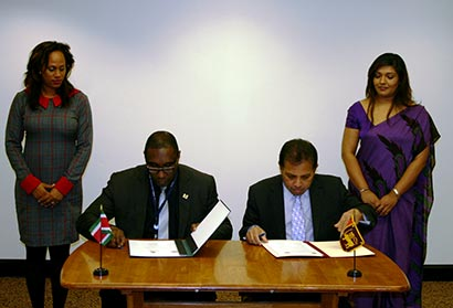 Establishment of Diplomatic Relations between Sri Lanka and Suriname