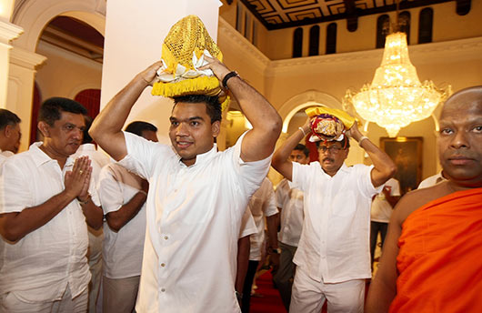 President Mahinda Rajapaksa celebrates his 67th Birthday - Photo 1