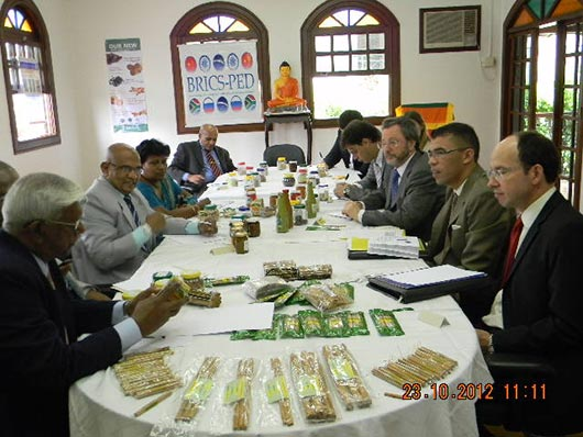Ministerial Delegation to Promote Sri Lankan Spices in Brazil