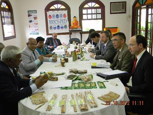 Ministerial Delegation to Promote Sri Lankan Spices in Brazil