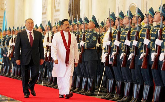 Official welcome ceremony by Kazakhstan President at Akorda palace - Photo 2