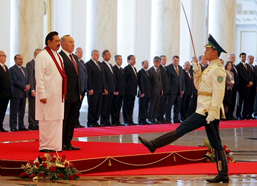 Official welcome ceremony by Kazakhstan President at Akorda palace - Photo 3