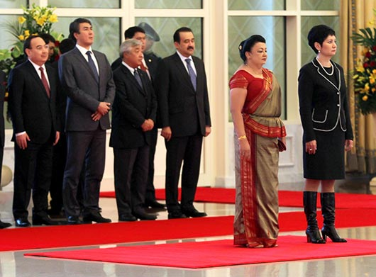 Official welcome ceremony by Kazakhstan President at Akorda palace - Photo 5