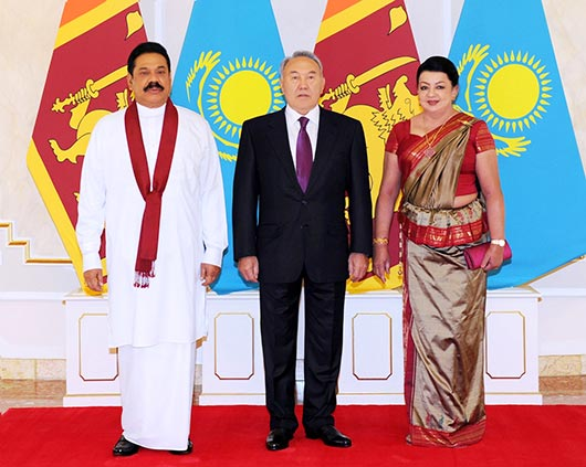 Official welcome ceremony by Kazakhstan President at Akorda palace - Photo 7
