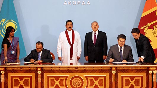Official welcome ceremony by Kazakhstan President at Akorda palace - Photo 9