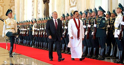 Official welcome ceremony by Kazakhstan President at Akorda palace - Photo 1