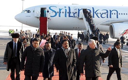 Sri Lanka President Rajapaksa arrives in Kazakhstan on a state visit - Photo 4