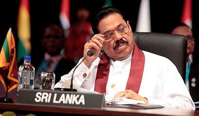 President Mahinda Rajapaksa