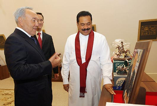 Kazakhstan and Sri Lankan leaders hold bilateral talks - Photo 17
