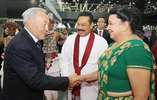 Kazakhstan and Sri Lankan leaders hold bilateral talks - Photo 4