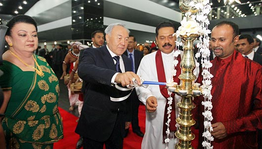 Kazakhstan and Sri Lankan leaders hold bilateral talks - Photo 6