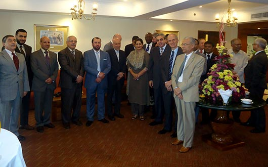 Diplomatic Corps hosts Farewell Reception for the outgoing Pakistani Envoy in Colombo