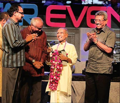 PANDIT AMARADEVA CELEBRATES 85TH BIRTHDAY