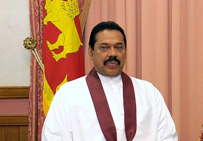 President Rajapaksa Sends Message of Good Wishes to Pope Benedict XVI