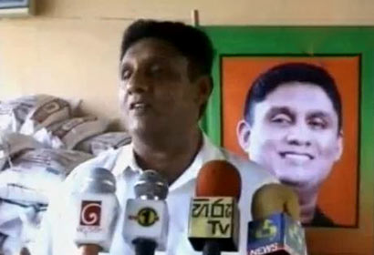 Deputy Leader of the United National Party, Sajith Premadasa