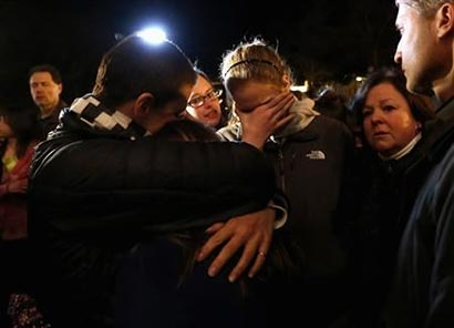Search for answers begins after U.S. school massacre