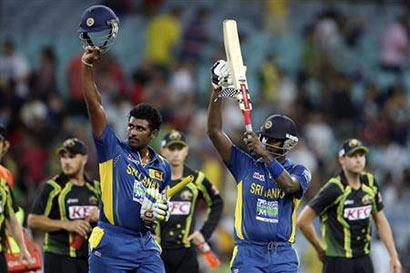 Sri Lanka beat Australia by 5 wickets in first T20