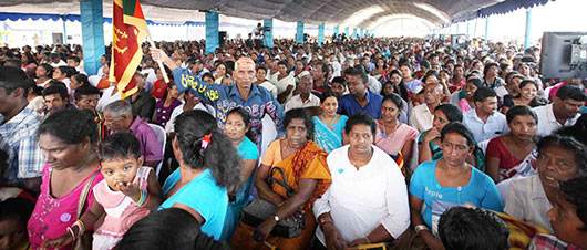 President Rajapaksa declares open South Asia's largest Fisheries harbor in Dikkowita