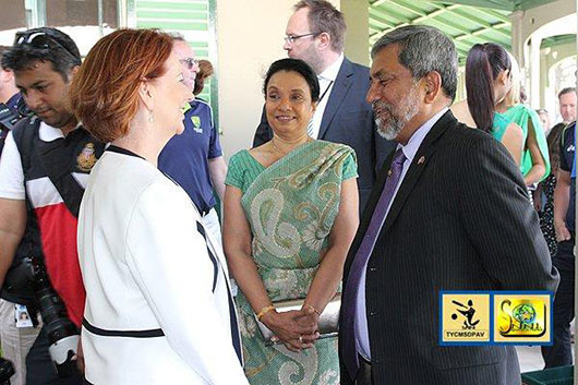 Hon. Julia Gillard, Prime Minister of Australia Host Sri Lankan Cricket Team - Photo 4