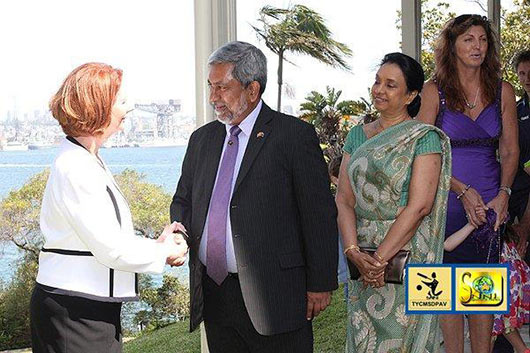 Hon. Julia Gillard, Prime Minister of Australia Host Sri Lankan Cricket Team - Photo 6