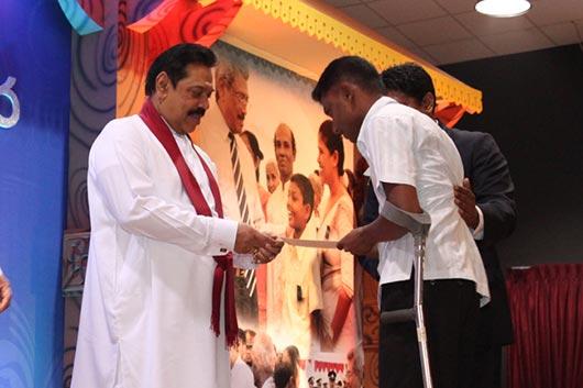Ranaviru Abiman ceremony at Temple Trees