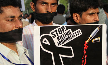 Pakistan most unsafe for newsmen in south Asia