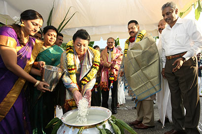 Thai Pongal festivel at Temple Trees