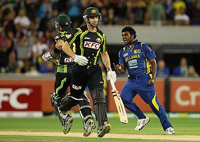 Sri Lanka beat Australia by 3 runs, win series 2-0
