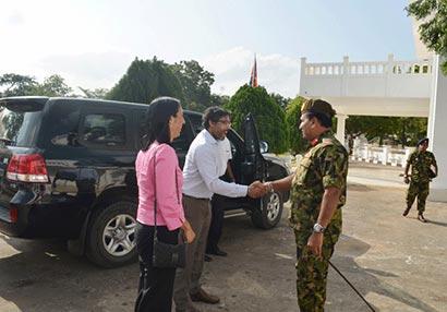 US delegation visits Jaffna
