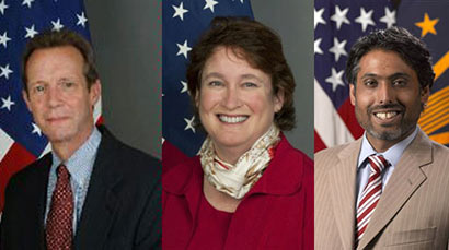 US Officials in Sri Lanka