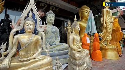 Iranian official rejects reports on ban on Buddha statues