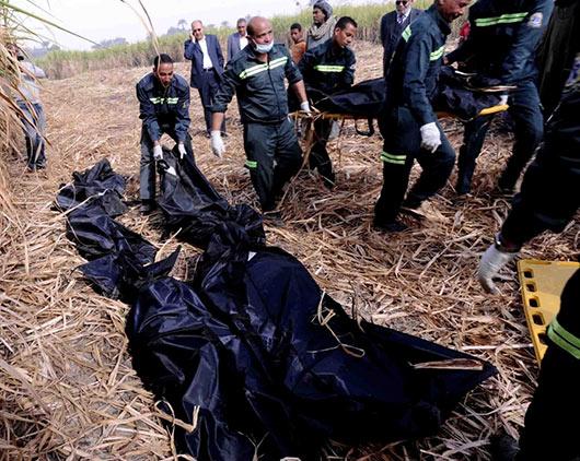Fiery balloon accident kills 19 tourists in Egypt