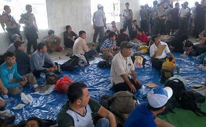 Indonesian Police caught 26 Lankan Illegal Immigrants