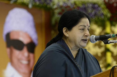 Jayalalithaa reiterates demand for economic embargo on Sri Lanka