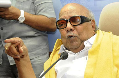 Karunanidhi finds fault with Pranab's speech over Lanka reference
