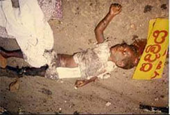 War Crimes by LTTE